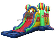 Summer hot sale inflatable bounce house with slide G3087