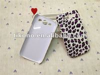 Leopard pattern leather skin hard case for Samsung galaxy s3 i9300