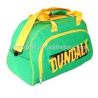 wholesale bright color travel gym sport bags with own design logo