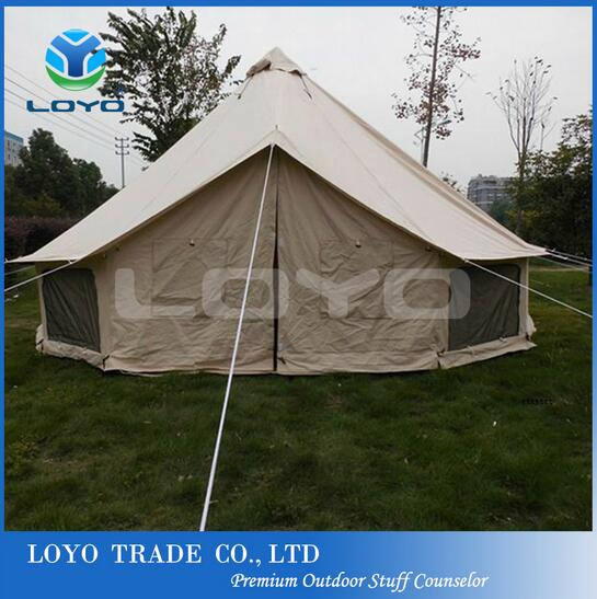 5 meters outdoor canvas bell tent for sale