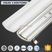 china supplier hanging workshop cabinet vapor tight linear sensor tri-proof led light