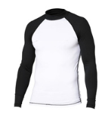 2016 Custom Men's Long Sleeves tattoo rash guard