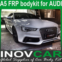 A5 FRP spoiler for cars, car body kit for AUDI A5 bodykit(front bumper/side skirts/rear bumper)