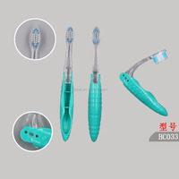 Wholesale Disposable Foldable Mini Travel Hotel Toothbrush