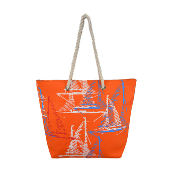 Promotional straw beach bag for summer 2017