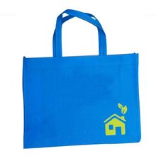 Customer Artwork Full Color Printing Tote Pp Non Woven Shopping Bag For Advertisement