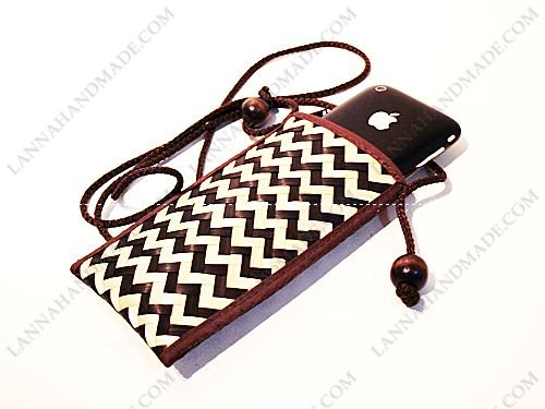 Thailand Coin Purse MP3/MP4/Mobile Cell Phone SLING Case Krajood Bag Handmade