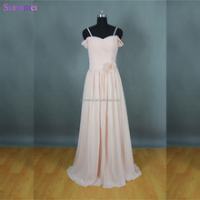 Long Blush Pink Bridesmaid Dresses New Design Off The Shoulder Brides Maid Dresses Free Shipping BD158