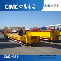 CE Certification and Truck Trailer Use multi-axle Hydraulic Truck Trailer for sale