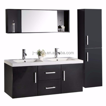 Double sink cabinet, french cabinet for modern bathroom