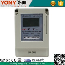 Electricity Preset Function Prepaid Electric Energy Meter
