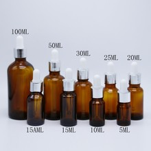 Factory price 30ml amber glass dropper bottles wholesale