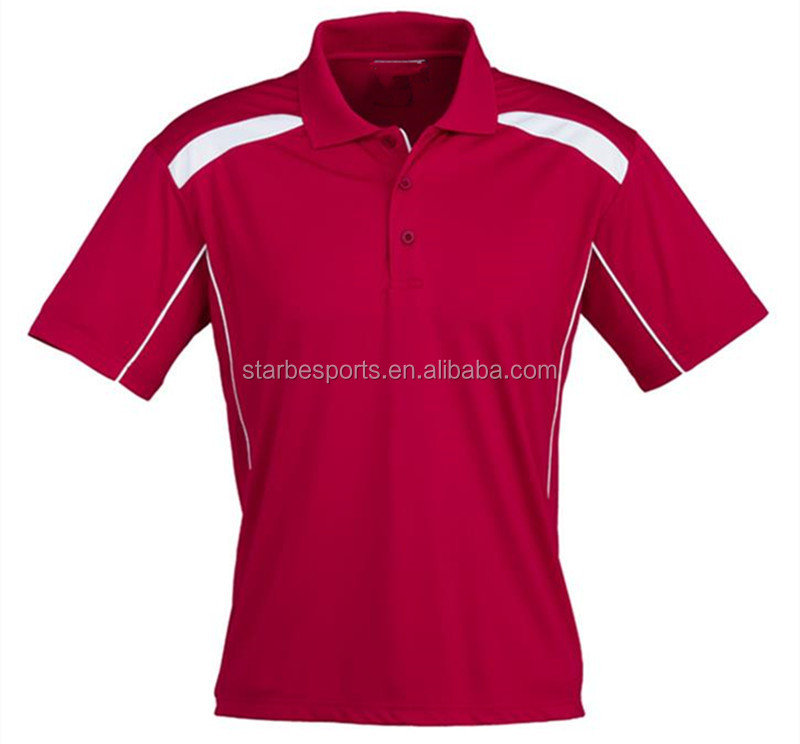 100% polyester high quality men's polo golf shirt clothing