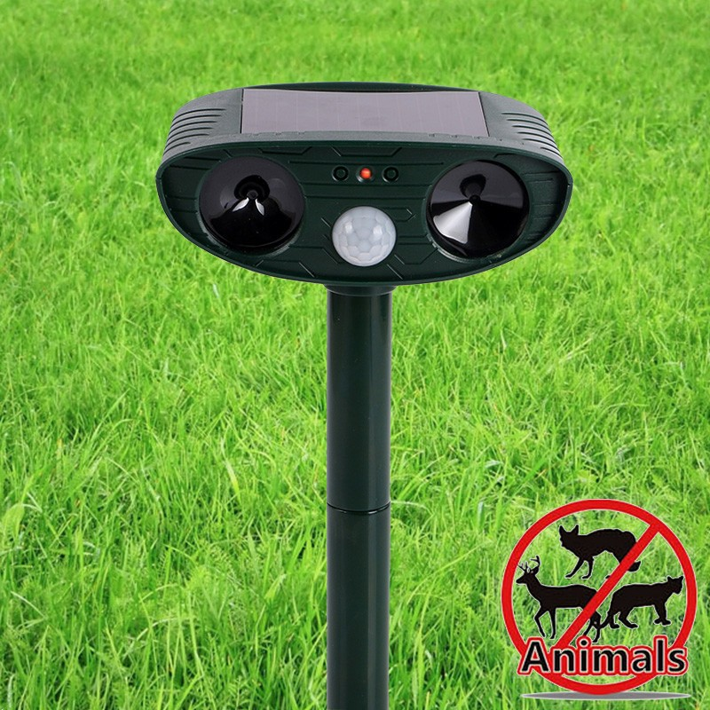 Factory Ultrasonic animal repeller Pest control products electronic ultrasonic pest dog cat repeller