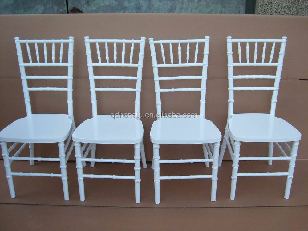 white fashion antique wood wedding chiavari chair for sale