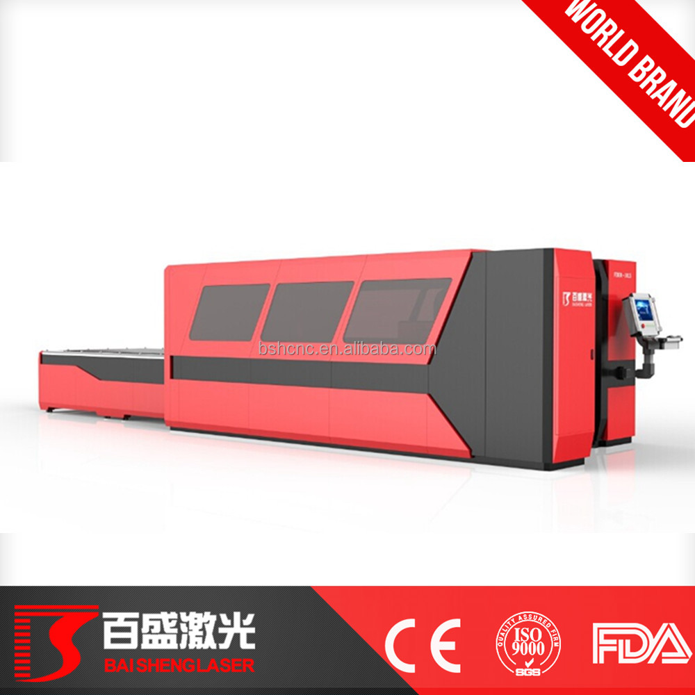 DXF,AI,PLT Graphic Format Supported and Laser Cutting Application fiber laser cutting machine price made in Guangzhou Baisheng