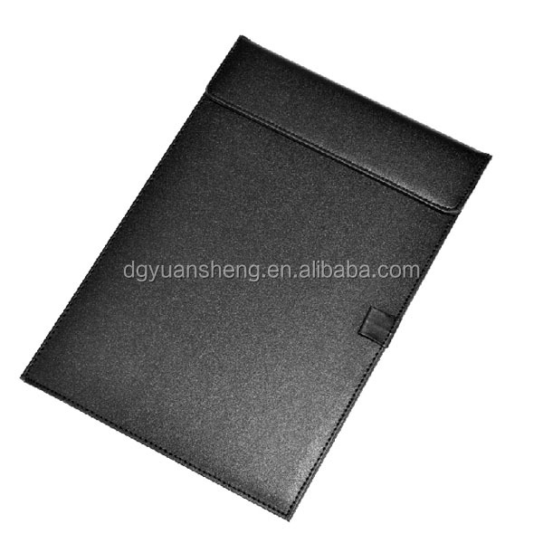 filing supplier types decorative a4 leather writing pad folder