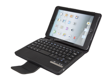 PU Leather Tablet Case with Kickstand Keyboard Case Cover for iPad Mini