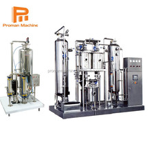 Aluminum beverage cans automatic soda making machine with production Line