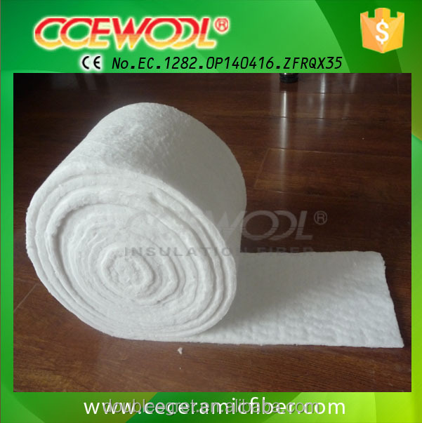 High purity thermal insulation alumina silicate ceramic fiber blanket