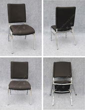 Whole steel stackable conference chair for banquet hall YC-ZL20-1