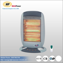 tree standing heating system halogen heater 400/800/1200w for sale