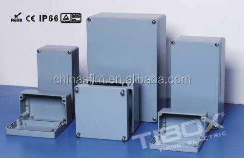TIBOX TOP quality electronic power enclosure PCB Extruded aluminum box