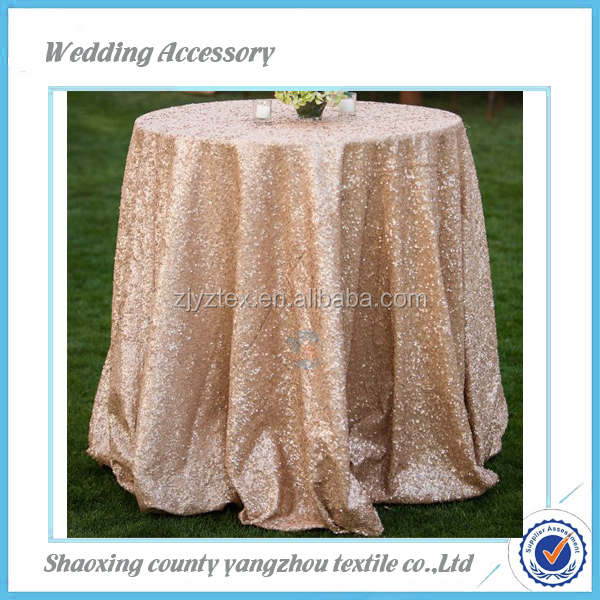 purple glitter fancy table cloth table linen