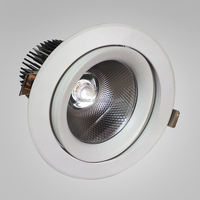 2016 new LED Downlight Retrofit Kits 6 inch 30W cob led downlight DLV601 zhongshan factory led down light with emergency