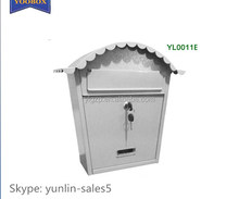 2017 popular safety locking mailbox 0011E made in China
