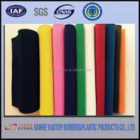neoprene material both sides coated polyester fabric neoprene colorful sheets for Sports swimsuit diving suits