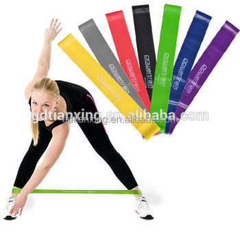 Funny Yoga bands Exercise Elastic Latex Resistance Loop Bands