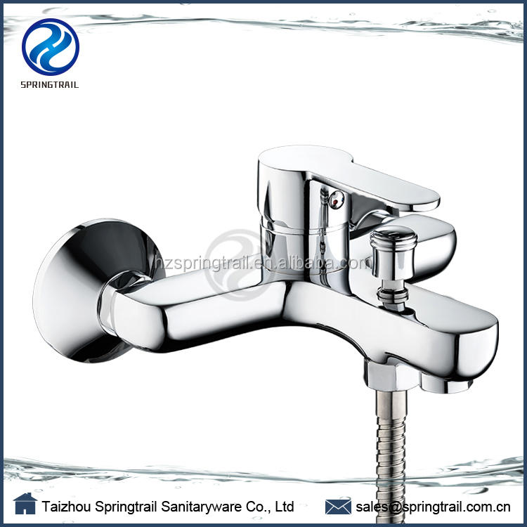 New Design Wall Mount Bathtub Faucet 2 Way Brass Bath& Shower Faucet Water Tap