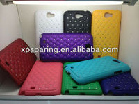 Plastic diamond case back cover for Samsung Galaxy Note II N7100