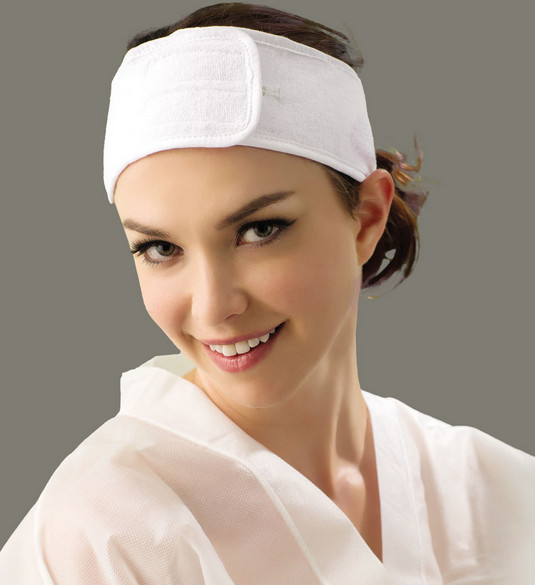 Private label salon hairband cosmetic terry cotton <strong>headband</strong> private logo <strong>headband</strong> customized <strong>headband</strong>