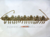 Wholesale wedding tiaras and crown handmade beaded hair accessories headband for hair