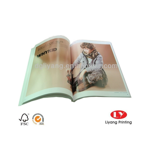 Popular garment presentation soft cover coloring book printing service