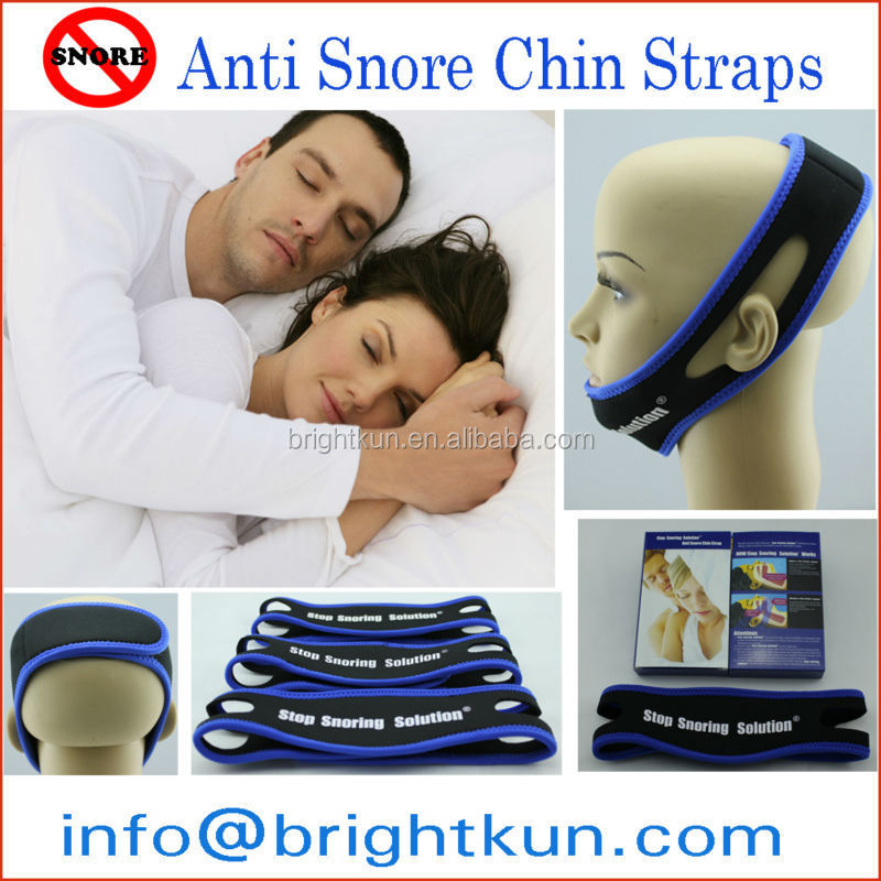 Wholesale anti snore chin strap stop snorin belt trending hot products