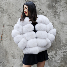 CX-G-A-245D Fox Fur Winter Clothes New Products For 2017