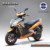 sport style 72v 1500w battery powered motor scooter with fast speed