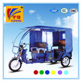 YUFENG 48V1000W high quality battery powered three wheel electric rickshaw prices
