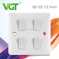 Low maintenance cost Energy saving electrical outlet and light switch in one outlet