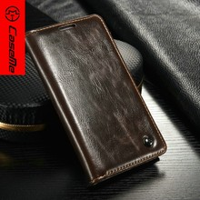 Caseme original leather case for samsung galaxy s4 i9500 with magnet design wallet stand phone cover for galaxy s4