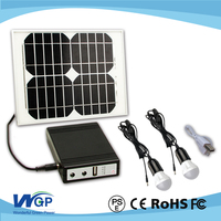 mini projects solar power solar kits 3w led light solar system for home lighting