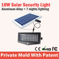 Cool White High Brightness Led Portable Solar Camping Lamp