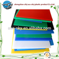 Low price white color chinese factory polypropylene printing sheet for cutting board