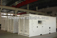 12 monthes warranty Deutz engine 500kva containerized diesel generator