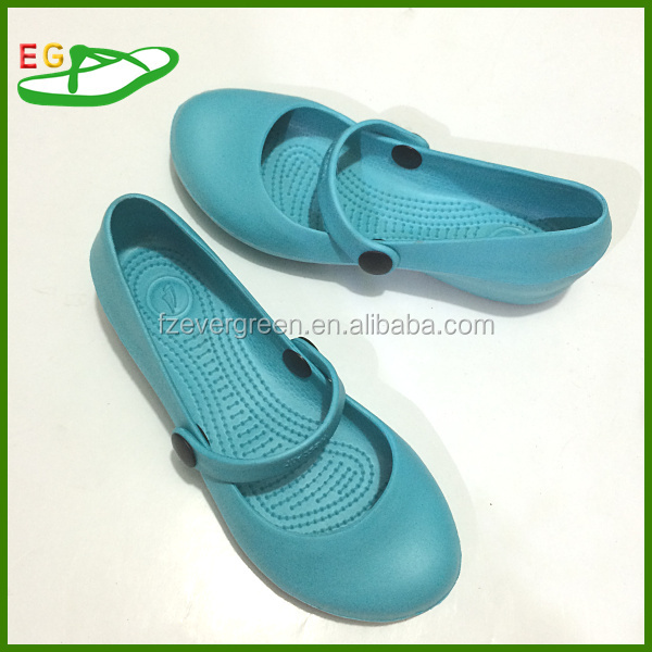 2015 Ladies sexy dress EVA dress shoes EGA0127-12 Black and blue or customized color