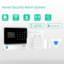 High quality wireless alarm system download application play store & gsm alarm system GS-G90B instruction in russian