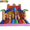 16FT Dry Inflatable Slide Rental, Commercial Jump Vinyl Slide